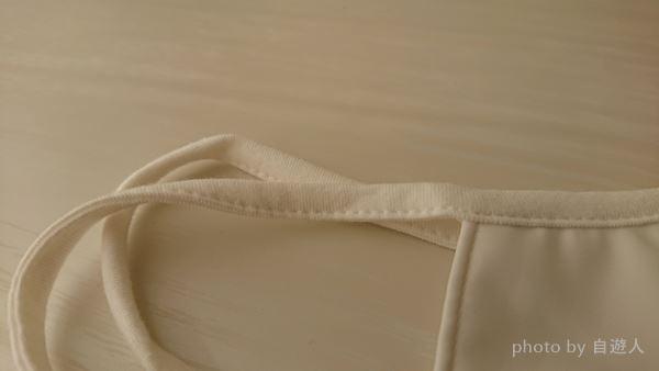 セブンイレブンの「肌にやさしい洗えるマスク」の耳紐①