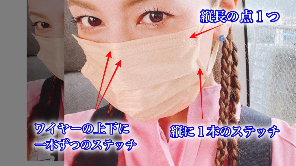 スザンヌ着用の不織布マスクの特徴