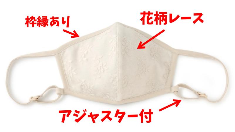 平愛梨さんがインスタで着用している白いマスクの特徴