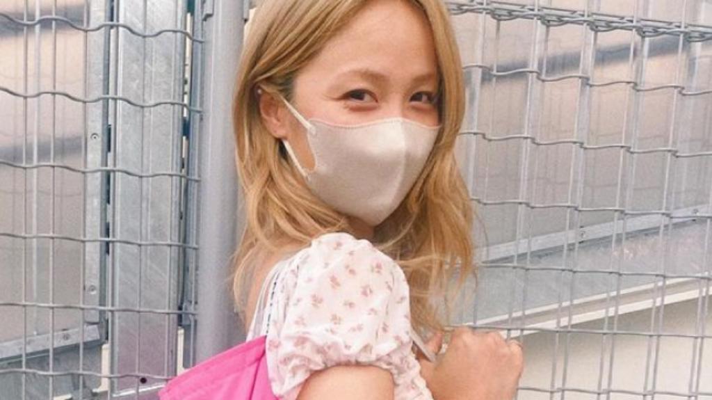 Dream Ami着用マスクの拡大画像