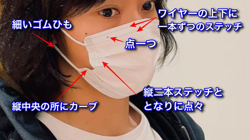 山崎賢人さん着用の不織布マスクの特徴