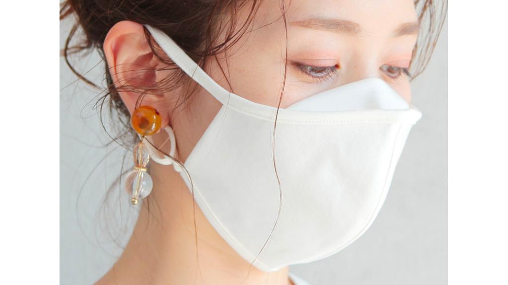 近藤千尋が着用しているRECAマスクの画像