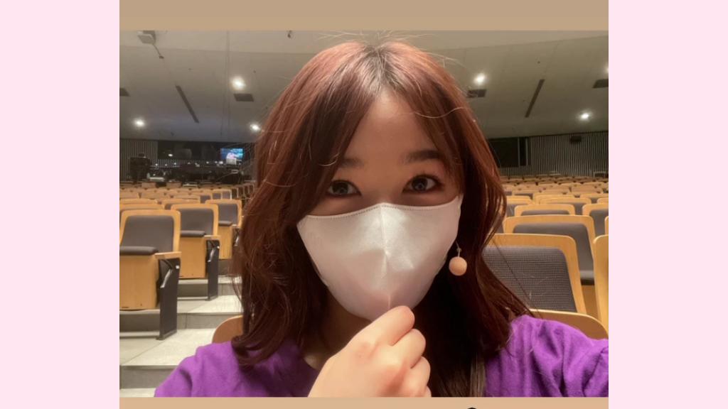 桜井日奈子着用マスクの画像スクリーンショット