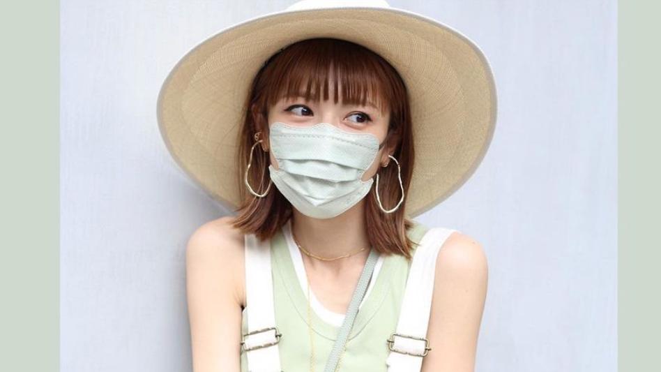 若槻千夏着用のディーマスク