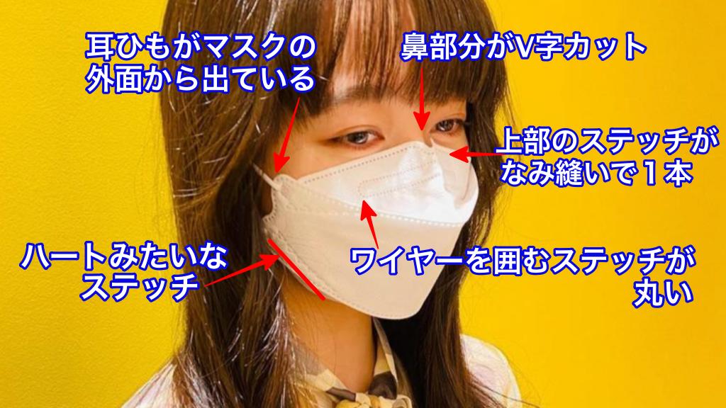 Cocomi愛用KF94マスクの特徴