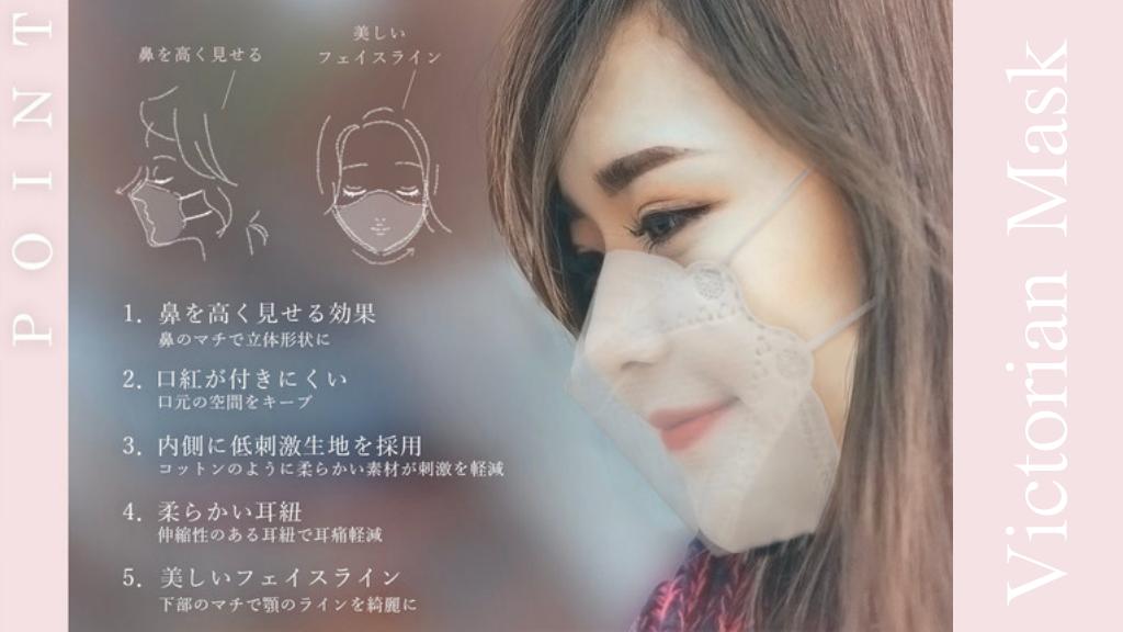 フワちゃんが愛用している「ヴィクトリアンマスク」