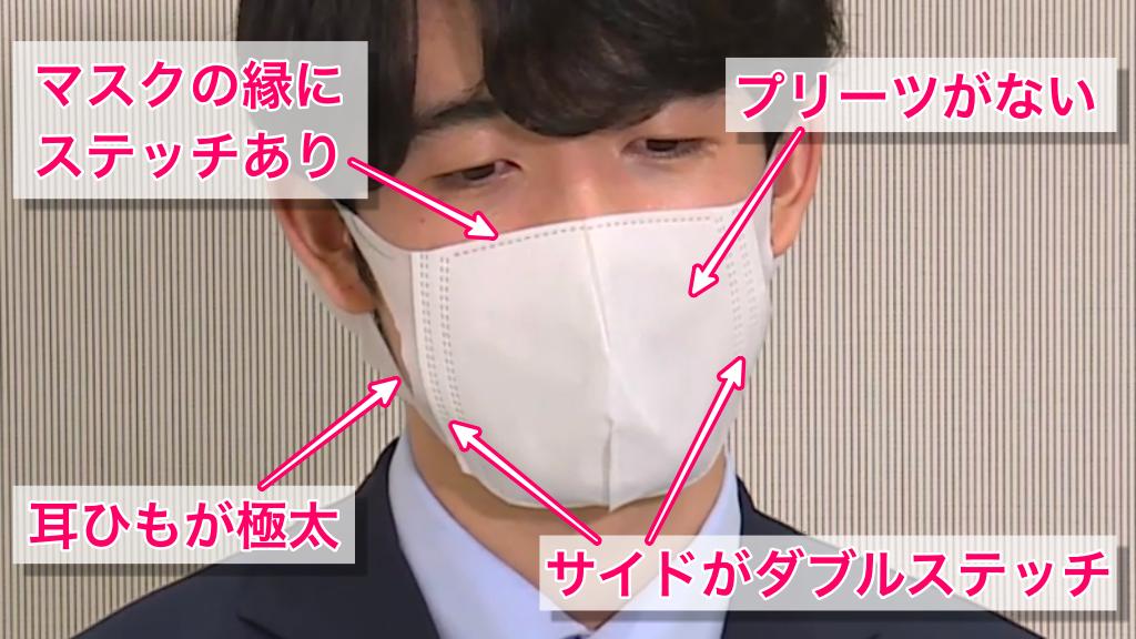 藤井聡太棋士のマスクの特徴