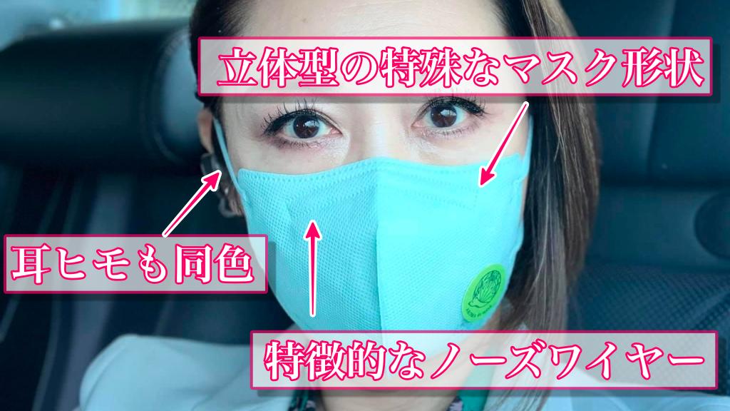 三原じゅん子さんが愛用しているマスクの特徴
