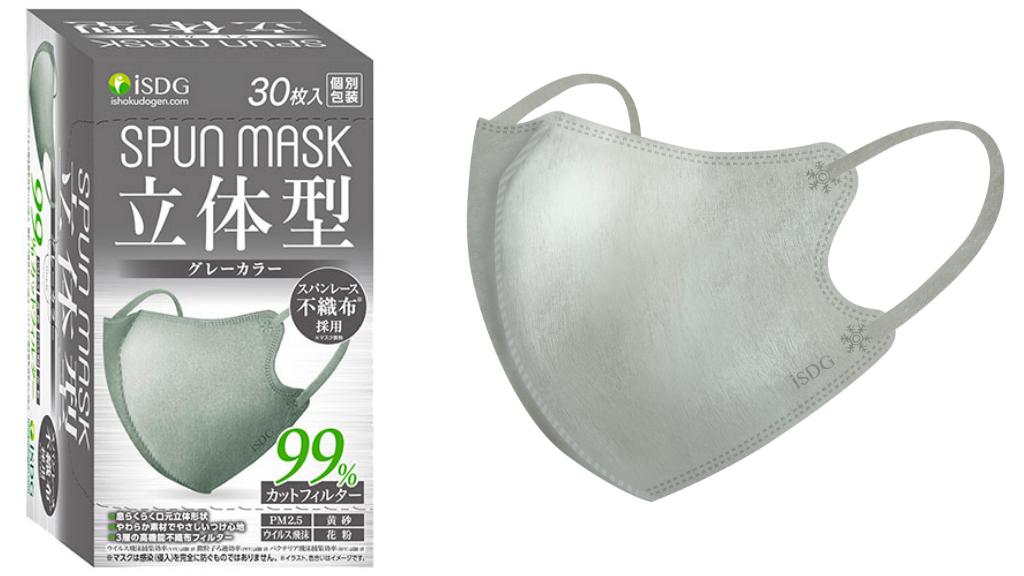 三原じゅん子さんが愛用している「立体型スパン不織布マスク」